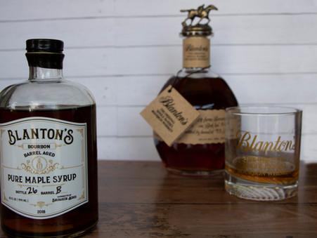 Blanton's Barrel Aged Maple Syrup