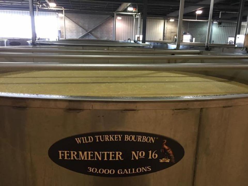 Wild Turkey Bourbon Fermenter number 16.