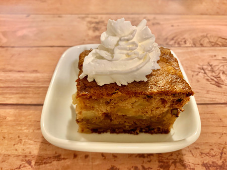 Bourbon Apple Cake