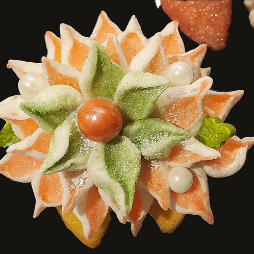 Coral Floral Assortment of 6  - Peach Mango