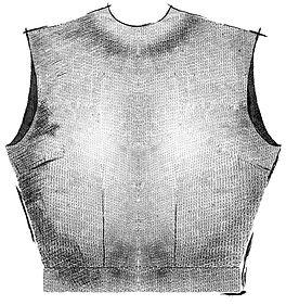 A drawingof a bodice