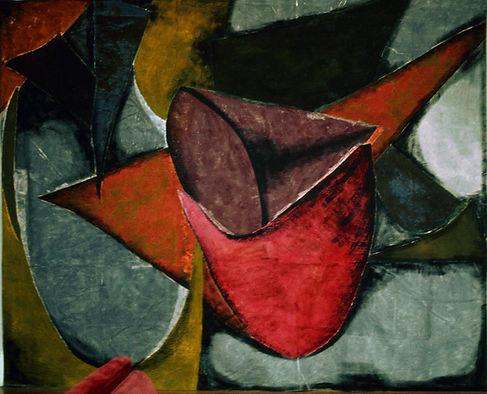 a contemporary abstract design