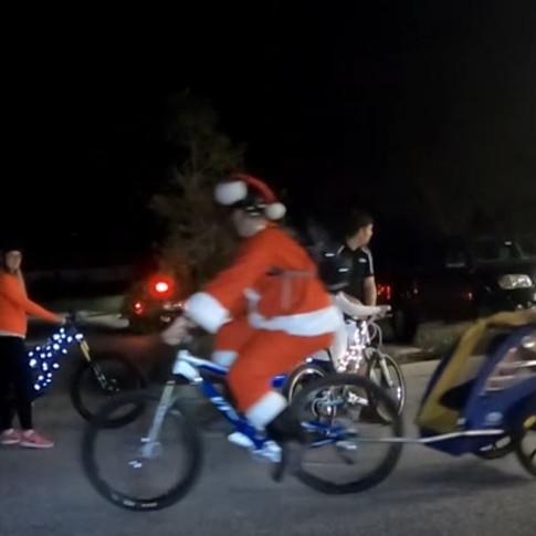 LeRoys Fun Christmas Light Ride