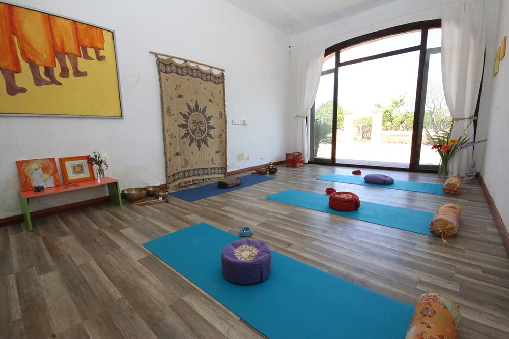 Der Yogaraum