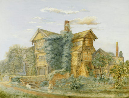 Original painting inspiration for Fettigrew Hall cover