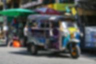 タイ バンコク トゥクトゥク 旅行