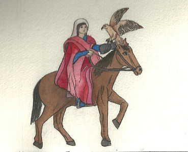 painted design for The 13th Century - A Fettigrew Hall Novel