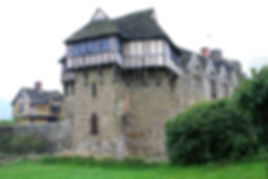 Stokesay Castle, inspiration for Fettigrew Hall