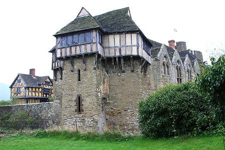 Stokesay Castle, inspiration for Fettigrew Hall
