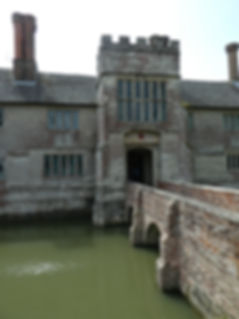 Baddesley Clinton across the moat