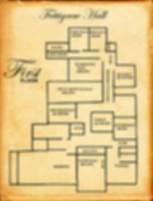First floor map of Fettigrew Hall