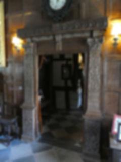 Baddesley Clinton door frame
