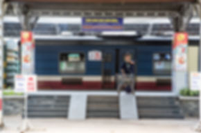 サイゴン駅 列車 vietnam  ホーチミン