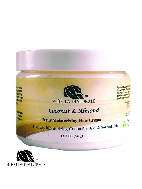 Coconut & Almond Daily Moisturizing Hair Cream