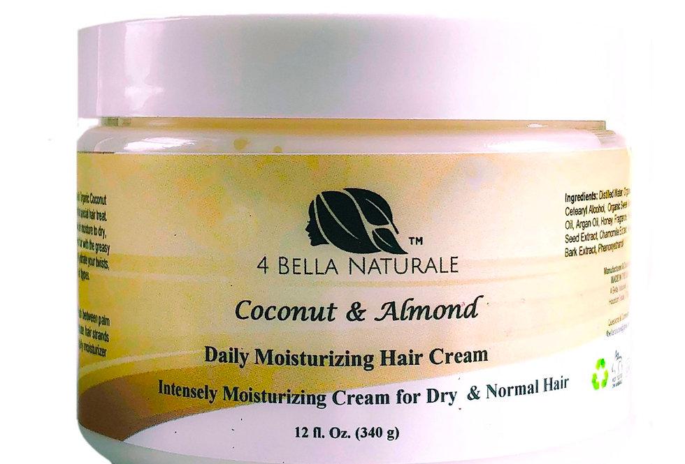 Coconut & Almond Daily Moisturizing Hair Cream