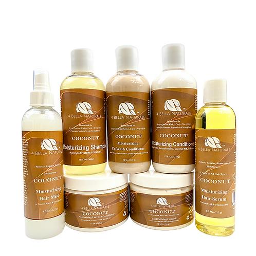 Coconut Moisturizing Healthy Hair System