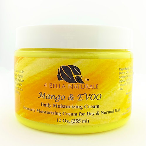 Mango & Olive Oil Daily Hair Moisturizing Cream