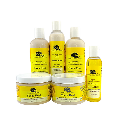 Yucca Root Restorative Hair Growth System