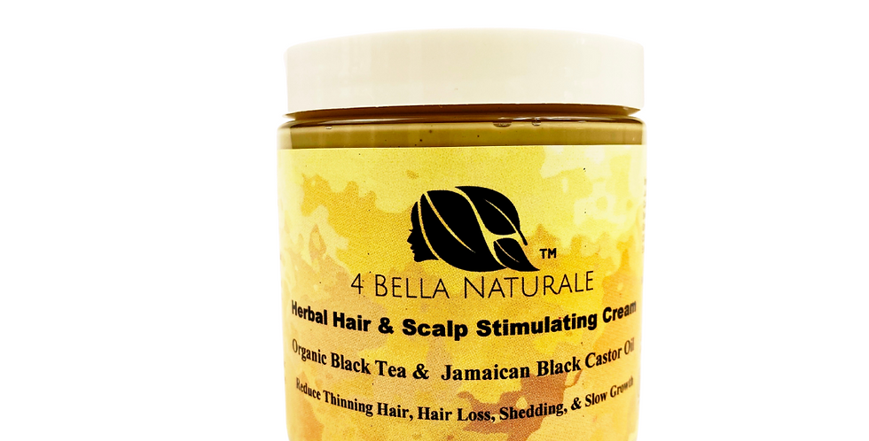 Black Tea Herbal Hair & Scalp Cream