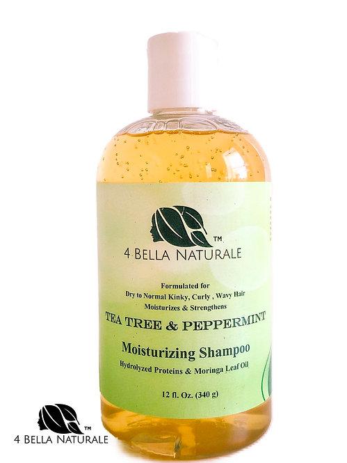Tea Tree & Peppermint Moisturizing Shampoo