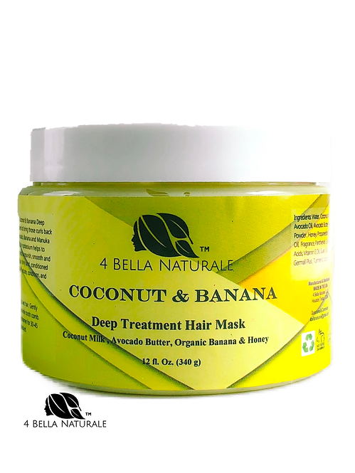 Coconut, Avocado, & Banana Deep Treatment Hair Mask