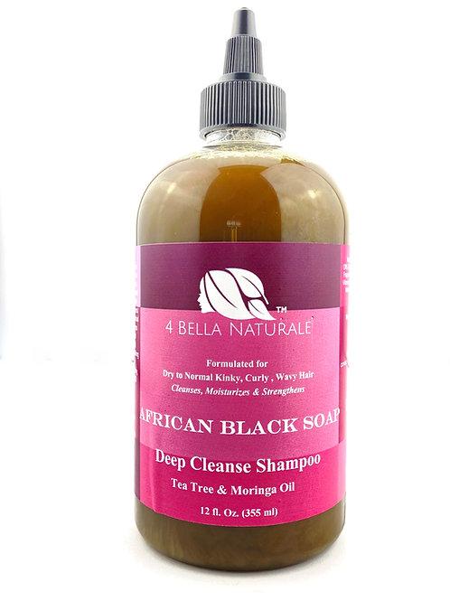 African Black Soap Deep Cleanse Shampoo