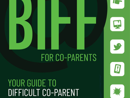 Peaceful Parent Messenger mentioned in BIFF Book for Co-parents!