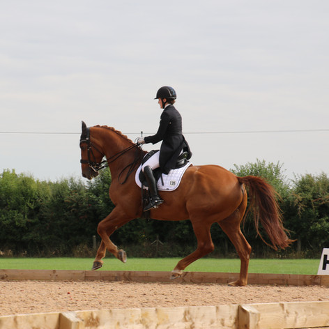 Horacio competing at Hunter's