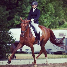 Feather at her first show