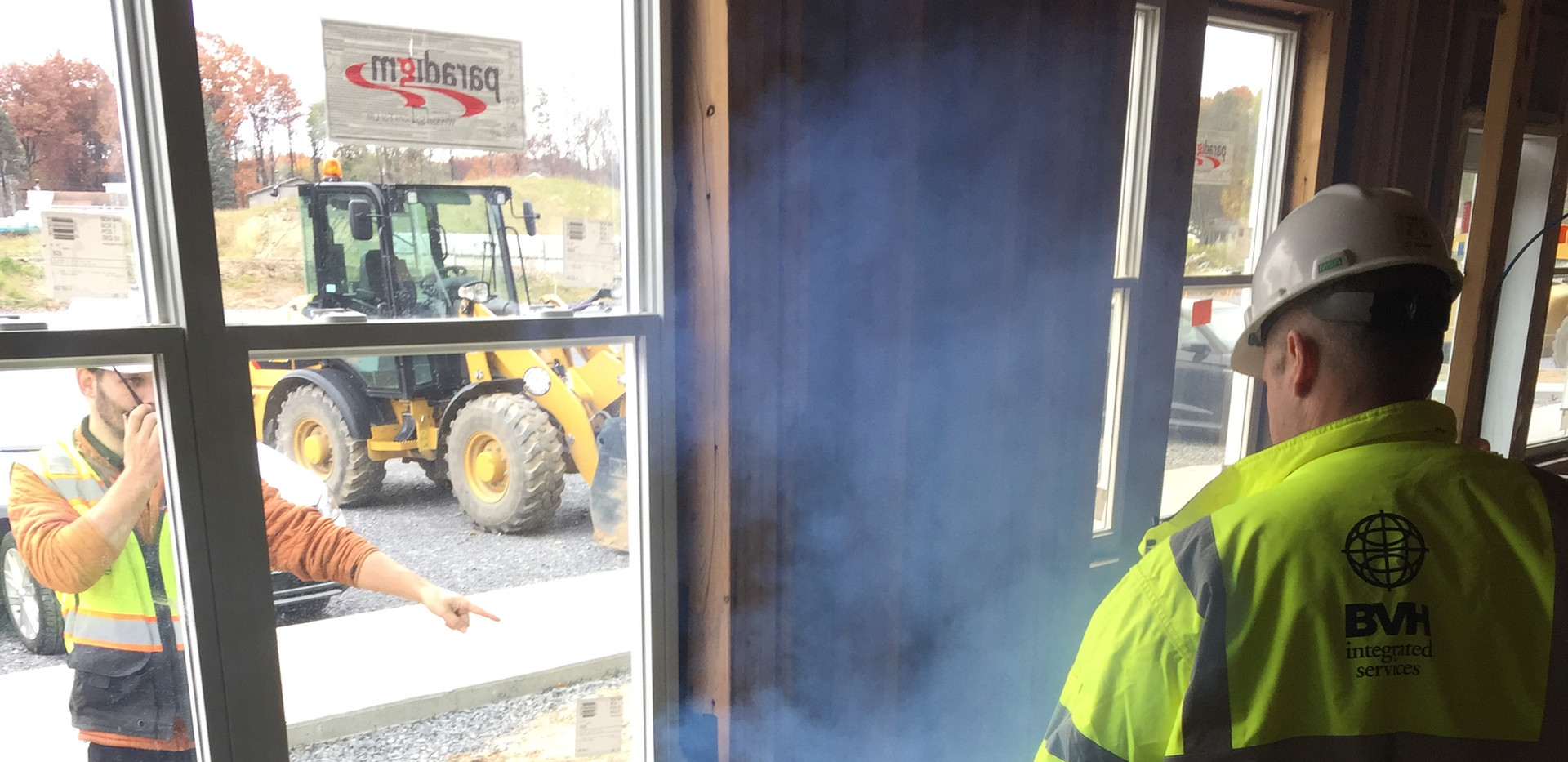 Smoke Testing the First Building