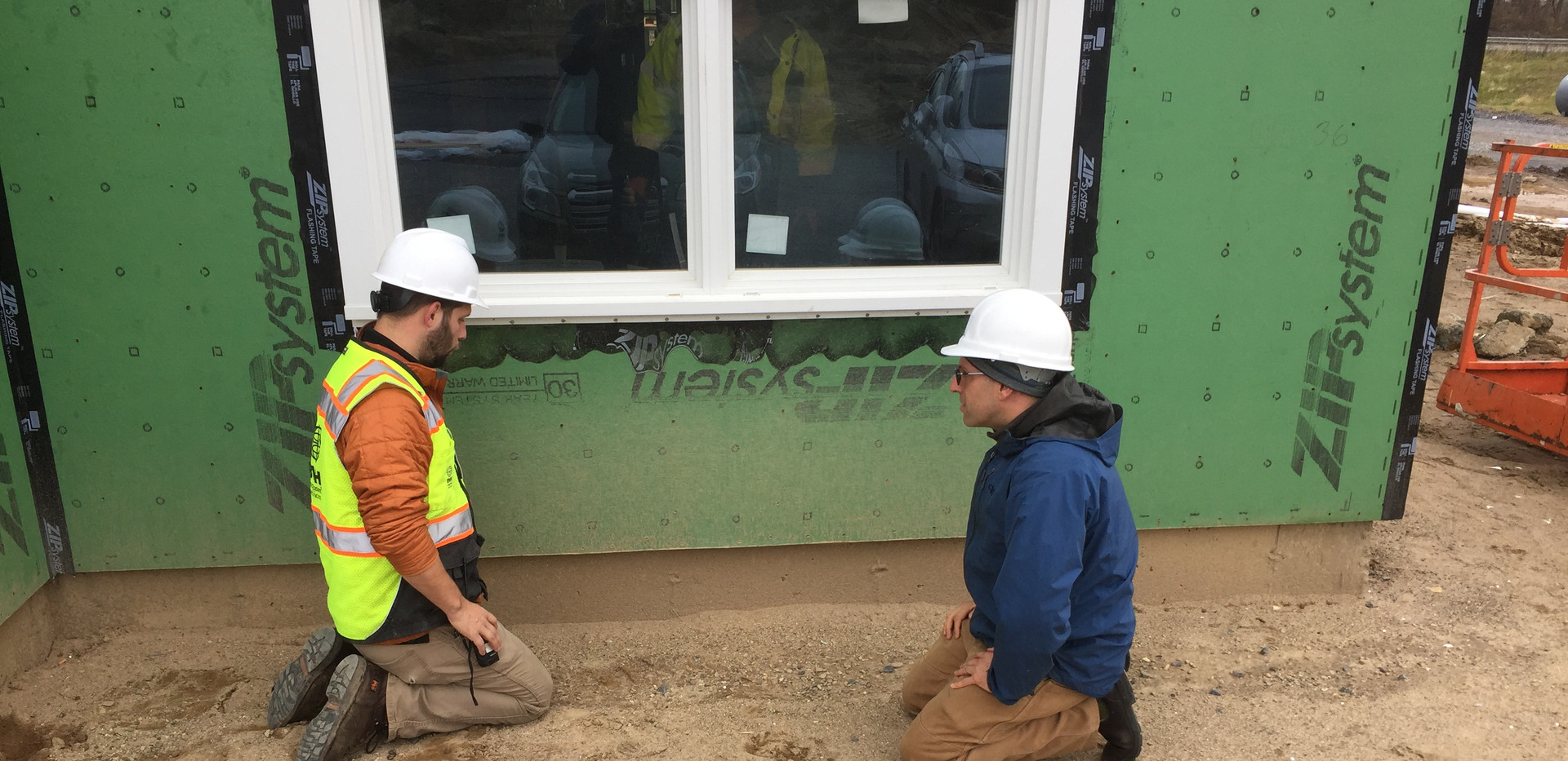 Checking Building for Air Leaks