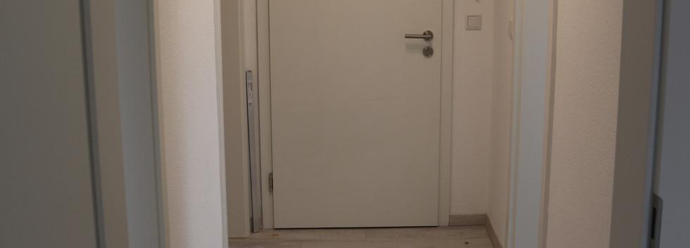 Die Wohnung verfügt über eine sehr gute Raumaufteilung
