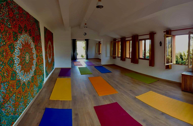 Magic Hill Retreat Center workshop room