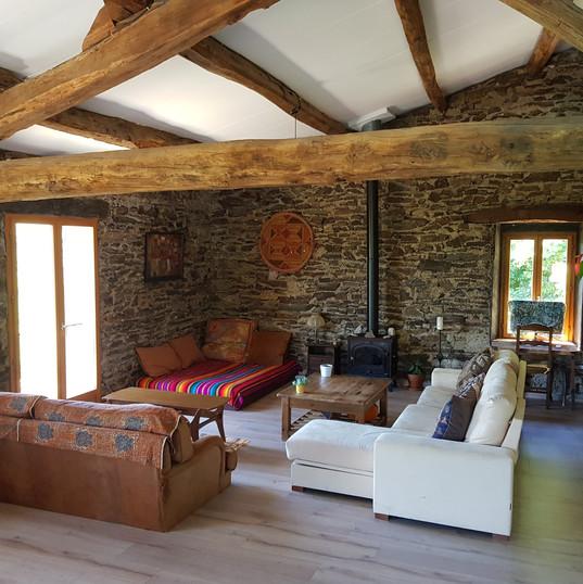 Magic Hill Retreat Center indoor living area