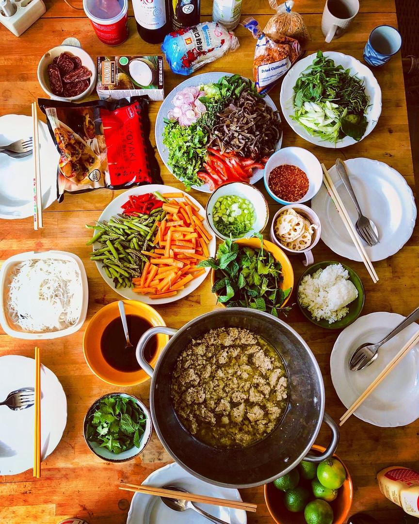 Magic Hill Retreat Center food