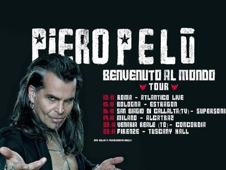 Benvenuto al Mondo tour e bentornato Piero Pelù
