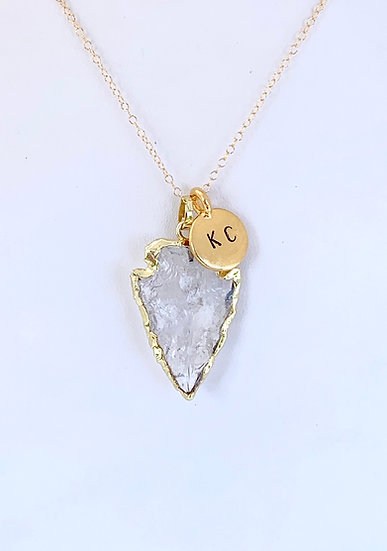 Arrowhead Necklace with Charm