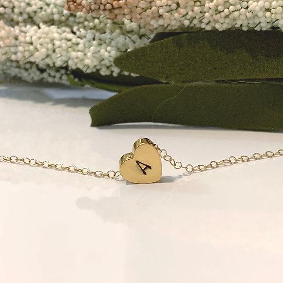 Custom Tiny Heart Necklace