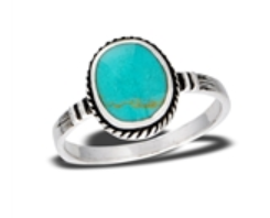 Sterling Silver Round Braided Ring