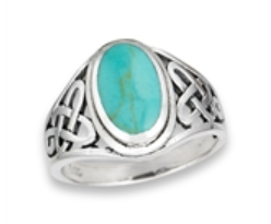 Sterling Silver Endless Knot Ring