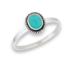 Sterling Silver Small Braided Bali Ring