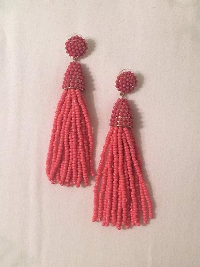 Hot Pink Dangles
