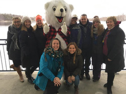 L'équipe du Carnaval de Sherbrooke