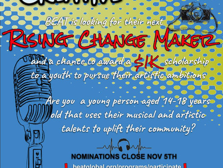 Last Call for Rising Change Maker Nominations