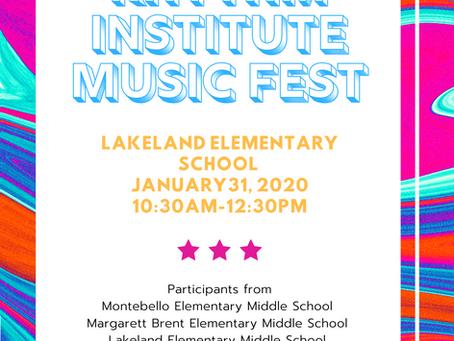 3 Schools Prepare to Showcase Talent at MRI's Music Fest