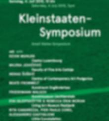 milena jovicevic, Small states symposium, liechtenstein