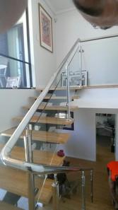 Stairwell balustrade