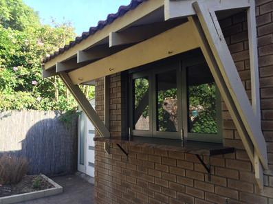 Bi-fold kitchen window