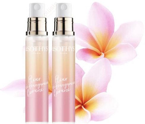 Eau parfumée Fleur de frangipanier et prune