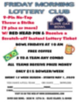 Burr Oak Friday Summer No-Tap Lottery Le